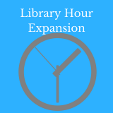 Library Expansion Hours