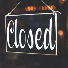 Closed January 20