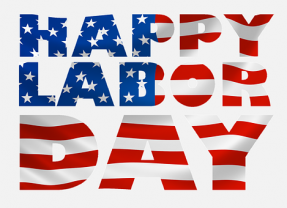 Closed on September 2 for Labor Day