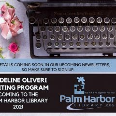 Madeline Oliveri Writing Program Is Coming To The Library!