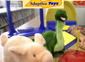 The Library Has Adaptive Toys