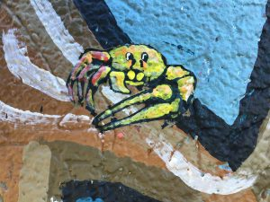 Painted fiddler crab