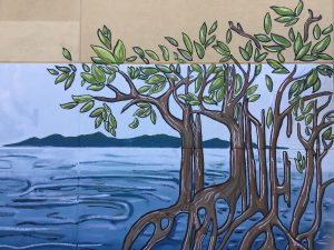 Painted mangroves