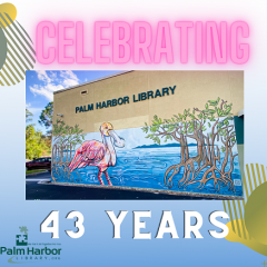 Palm Harbor Library Celebrates 43 Years of Service!